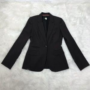 J. Crew brown wool structured career blazer 4T